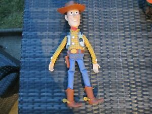 ORIGINAL Thinkway Disney Toy Story 1 - Sheriff Woody - Large Talking Doll Figure