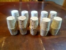 20 CORKS PUSH IN TAPERED ROUND PLUGS STOPPERS-MEDICAL-WINE-NATURAL-DECORATIONS