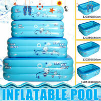 Inflatable Swimming Pool Family Outdoor Garden Kids Paddling Pools 2/3