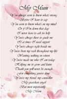'My Dearest Mum' A5 Mum Card Birthday Love Keepsake Special Day