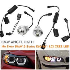 BMW 5-Series E60 E61 LCI CREE LED 20W Ojos de Ángel aureola anillo Ligero Bulbo