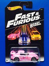 2016 Hot Wheels FAST & FURIOUS (SERIES 3) JDM PINK 2001 HONDA S2000 - mint card!