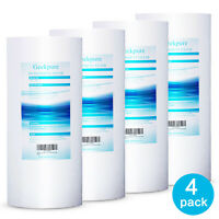 """4 Packs Big Blue Whole House PP Sediment Replacement Water Filter - 4.5"""" x 10"""""""