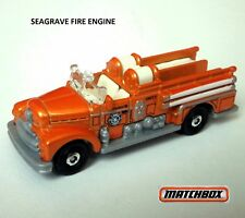 1952 Seagrave Fire Engine   2018 matchbox 72/125. FHH28. Loose, Fresh out of box