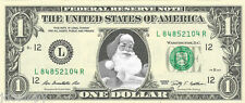 Santa Claus #1 Christmas Dollar Bill - REAL Money! Stocking Stuffer!