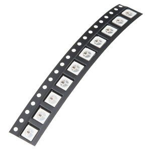 25 WS2812B 4pin 5050 SMD Addressable RGB LED Chip Neopixel, Easy Arduino control