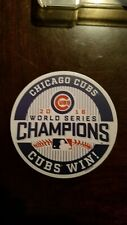 Chicago Cubs World Series  Champions 2016 Decal / Sticker Die cut 4in