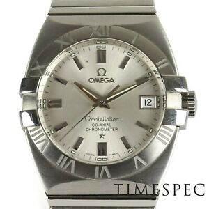 Omega Constellation Double Eagle Co-Axial Stainless Steel Watch