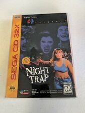 Night Trap (Sega 32X CD) Great Condition, Tested, with All Manuals and Tattoo