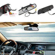 Car Reverse Parking Camera Rearview Mirror TFT Color Monitor LCD Screen Display