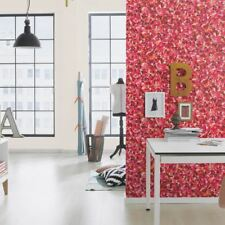 Rasch Barbara Becker Pink Flower Petals Pattern Wallpaper Floral Textured 476002