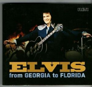 """ELVIS - """"FROM GEORGIA TO FLORIDA APRIL 1975""""  (RARE LIVE IMPORT 2 CD DIGIPAK)"""
