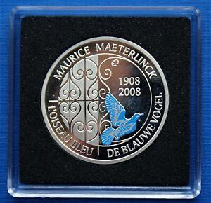 10 Euro L'Oiseau Bleu (Argent) - Belgique - 2008 - FDC