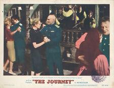 The Journey 11x14 lobby card Yul Brynner dances with Deborah Kerr