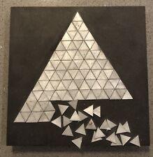 The Loss of Self, Signed Original Artwork, Metal Acrylic & Honeycomb Tile (2009)