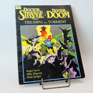 Marvel Graphic Novel Doctor Strange and Doctor Doom Triumph and Torment (1989)