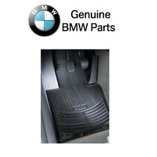 For BMW Z4 E85 E86 Coupe Roadster Set of 2 All Weather Black Rubber Floor Mats