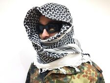Two x 100% Woven Cotton Military Shemagh Headscarf Keffiyeh Veil Tactical Wrap 2