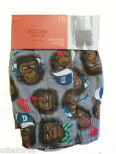 Mossimo Boxers L 36 38 Slim Fit NEW Monkeys Face Team Mascot Large