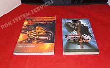 BATTLE ANGEL ALITA : 2 Viz Graphic Novels - Angel of Victory & Last Order Reborn
