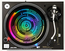 SPECTRAL RAINBOW - DJ SLIPMAT 1200's or any turntable, record player