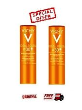 2 x VICHY IDEAL SOLEIL LIP STICK   UNISEX 2x  4.7ml