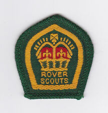1950's UNITED KINGDOM / BRITISH SCOUTS - ROVER QUEEN'S SCOUT Top Rank BADGE