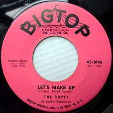 the DOVES soul POPCORN 45 Dore 1960 Don't Turn Away From Me / Let's Make Up F166