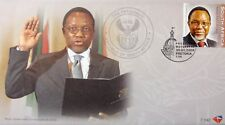 South Africa Stamps, First Day Cover, President Motlanthe - 30/1/2009