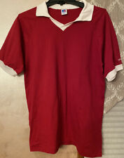 Vintage Russell Athletic Red Volleyball Soccer Jersey Medium Made In Usa