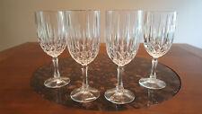 Set of (4) Gorham Regalta Crystal Wine Goblets - Excellent Condition!