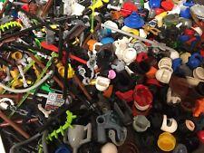 Lego Job Lot 50 X Minifigure Accessory Accessories Head Body Leg Hat Weapon Tool
