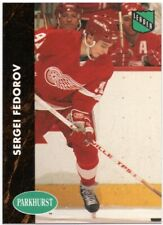 SERGEI FEDOROV 1991-92 Parkhurst Collectibles #PHC 5 Detroit Red Wings