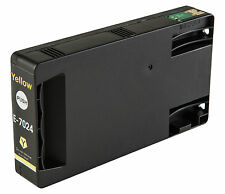 1 Yellow T7024 non-OEM Ink Cartridge For Epson Pro WP-4545DTWF WP-4595DNF