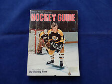 1972-73 Hockey Guide Published By The Sporting News