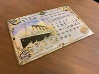 Titanic Calendar - Soap Advert Tin