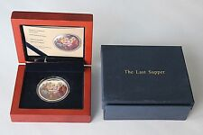 Niue 2012 $2 Orthodox Shrines: The Last Supper 1 Oz Silver Proof Coin JVP Berlin