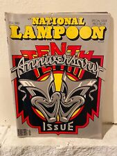 National Lampoon Magazine February 1980 Tenth Anniversary Issue nice condition