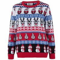 Christmas Items Women's Tops Jumpers 8 10 12 14 16 18 20 22 24 <XWB