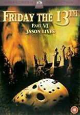 FRIDAY THE 13TH - PART 6 Jason Lives 2002 Jason lives - New Sealed Region 2 DVD