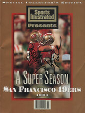 Young & Rice San Francisco 49ers SIGNED Sports Illustrated Commemorative NL MINT