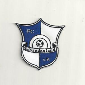 Aufnäher  FC SCHRADENLAND  aus Brandenburg