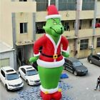 28ft Giant Inflatable The Grinch Christmas Santa Airblown Christmas Decor New