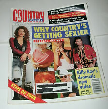 COUNTRY WEEKLY 1996 JULY 30, BILLY RAY CYRUS;PATSY CLINE;WAYLON & WILLIE;F.HART