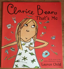 Clarice Bean Thats Me by Lauren Child Paperback Book Childrens Fiction 2000 NEW