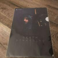 DEATH STRANDING GEO Limited Clear File B5 Size Reservation only