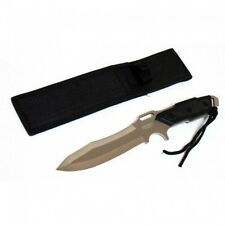 """Defender Tactical Survival Knife - 12"""" OAL - Fixed Blade - Full Tang - Saw Back"""