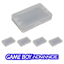 GameBoy Advance SP Game Cartridge Case for GBA Clear Dust Protector Box Set