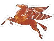 MOBIL PEGASUS OIL GASOLINE Sticker Decal