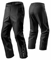 PANTALONI MOTO SCOOTER REV'IT ACID H2O IMPERMEABILE ANTIPIOGGIA NERO TG M